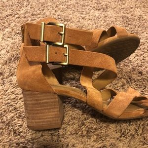 Gianni Bini Shoes - Nordstrom Gianna bini Strappy Sandals  Suede 7.5